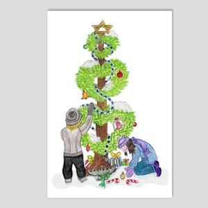 Holiday Love Tree Postcards (Package of 8)