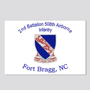 2nd Bn 508th ABN Postcards (Package of 8)