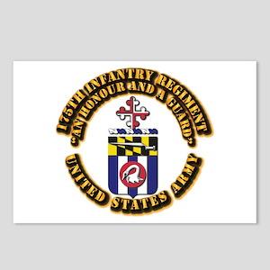 COA - 175th Infantry Regiment Postcards (Package o