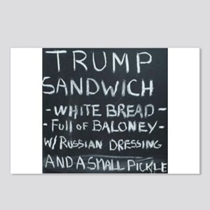 Trump Sandwich Postcards (Package of 8)