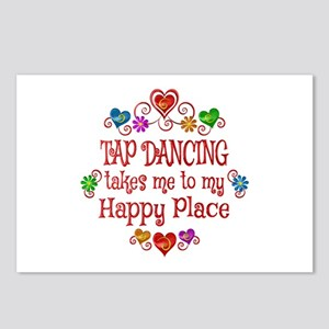 Tap Dancing Happy Place Postcards (Package of 8)