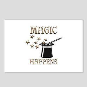 Magic Happens Postcards (Package of 8)