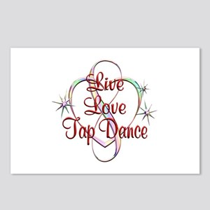 Live Love Tap Dance Postcards (Package of 8)