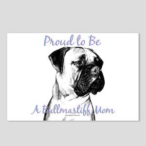 Bullmastiff 2 Postcards (Package of 8)