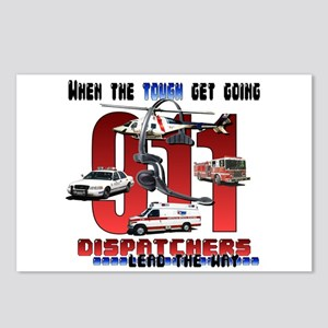 Dispatchers lead the way Postcards (Package of 8)