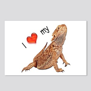 I luv my Bearded Dragon Postcards (Package of 8)