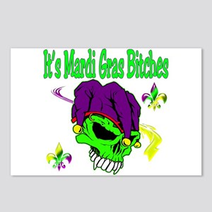 It's Mardi Gras Bitches Postcards (Package of 8)
