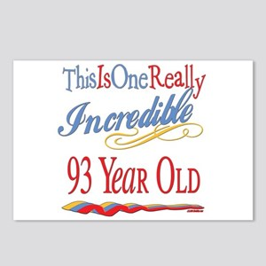 Incredible At 93 Postcards (Package of 8)
