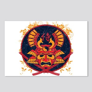 Samurai Stamp Postcards (Package of 8)