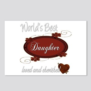 Cherished Daughter Postcards (Package of 8)