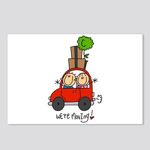 Car We're Moving Postcards (Package of 8)