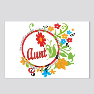 Wonderful Aunt Postcards (Package of 8)