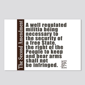 2nd Amendment Postcards (Package of 8)