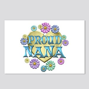 Proud Nana Postcards (Package of 8)