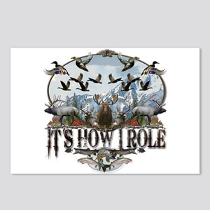 It's how I role Postcards (Package of 8)