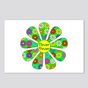 Cool Flower Power Postcards (Package of 8)