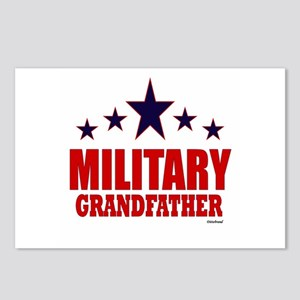 Military Grandfather Postcards (Package of 8)