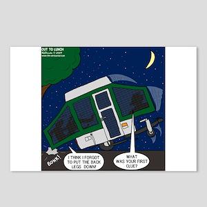 Pop-up Camper Problems Postcards (Package of 8)