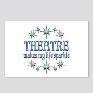 Theatre Sparkles Postcards (Package of 8)