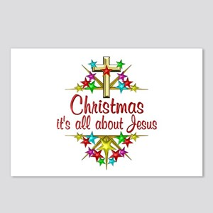 Christmas About Jesus Postcards (Package of 8)
