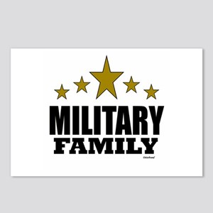 Military Family Postcards (Package of 8)