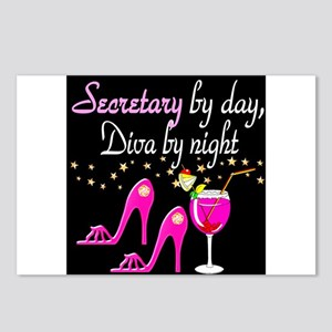 FOXY SECRETARY Postcards (Package of 8)