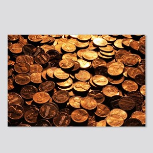 PENNIES Postcards (Package of 8)