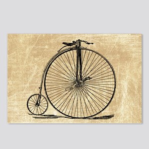 Vintage Penny Farthing Bicycle Postcards (Package