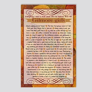 Gilmore Girls Life Lessons Postcards (Package of 8