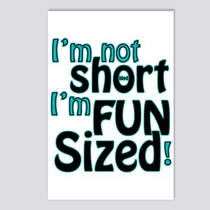 Not Short, Fun Sized Postcards (Package of 8)