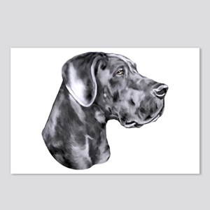 Great Dane HS Blue UC Postcards (Package of 8)