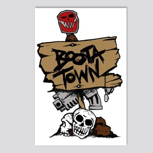 Boota Town Postcards (Package of 8)