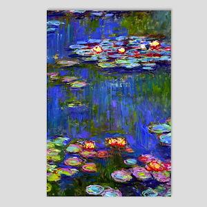 J Monet WL1916 Postcards (Package of 8)