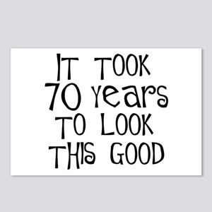70 years to look this good Postcards (Package of 8