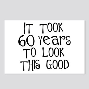 60 years to look this good Postcards (Package of 8
