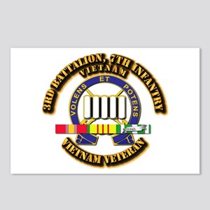 3rd Battalion, 7th Infantry Postcards (Package of