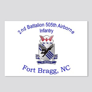 2nd Bn 505th ABN Postcards (Package of 8)