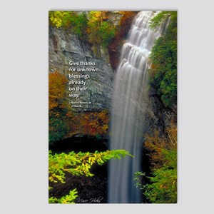 Waterfall Blessings Postcards (Package of 8)