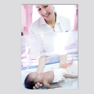 Nurse and premature baby Postcards (Package of 8)