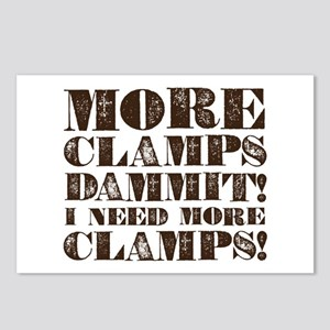 More Clamps Postcards (Package of 8)
