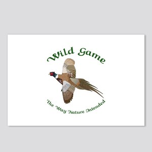 Wild Game Postcards (Package of 8)