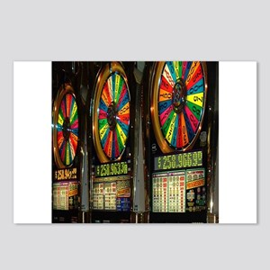 Las Vegas Slots Postcards (Package of 8)