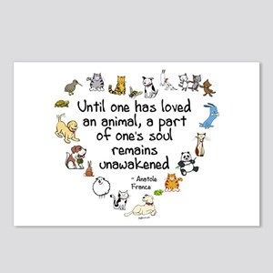 Until One Has Loved An Animal Postcards (Package o