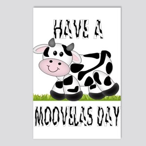 Cute Cow Moovalas day Postcards (Package of 8)