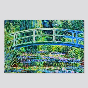 Monet - Water Lily Pond Postcards (Package of 8)