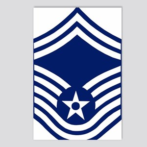 USAFSeniorMasterSergeantF Postcards (Package of 8)