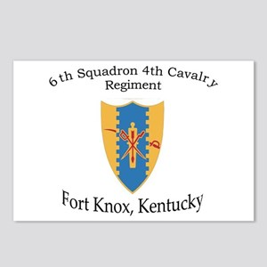 6th Squadron 4th Cavalry Postcards (Package of 8)
