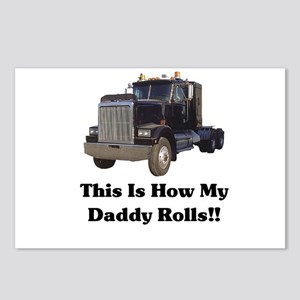 Semi Truck This Is How My Dad Postcards (Package o