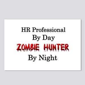 HR Professional/Zombie Hu Postcards (Package of 8)