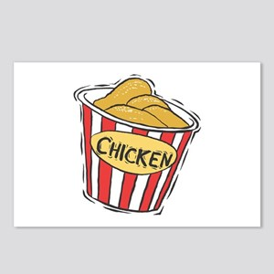Bucket of Chicken Postcards (Package of 8)